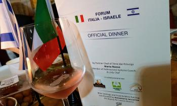 ISRAELE INCONTRA LE ECCELLENZE ITALIANE: OFFICIAL DINNER